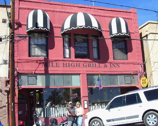 Jerome, AZ: The Mile High Grill & Inn