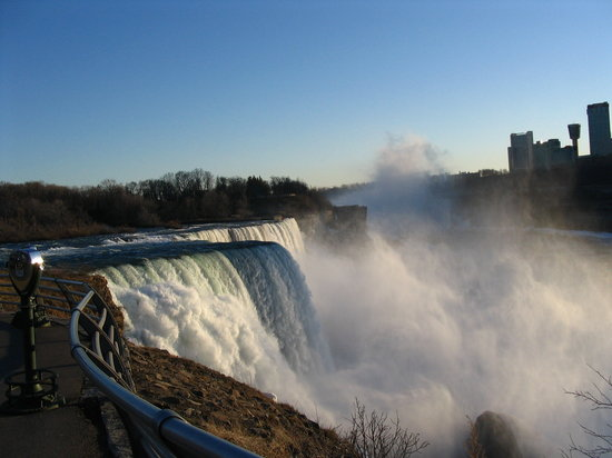 Cascatas do Niagara, Nova York: Niagara Falls (New York side)