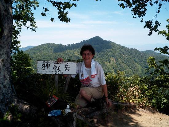 Mt. Kamui-dake: Kamui Dake - the top