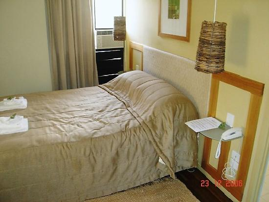 Whitsunday Organic B&B: Good size bedroom