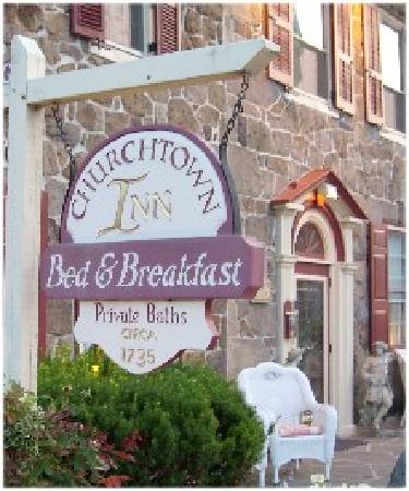 Churchtown Inn Bed and Breakfast: The lovely Churchtown Inn