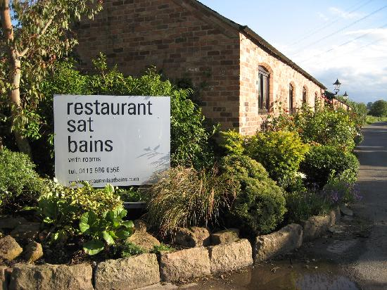 Outside picture of restaurant sat bains with rooms for S bains restaurant