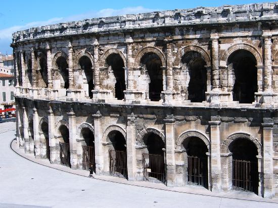 Nimes, France: The Amphitheatre