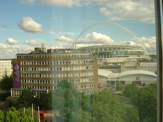 Premier Inn London Wembley Park Hotel: View of Wembley from hotel window