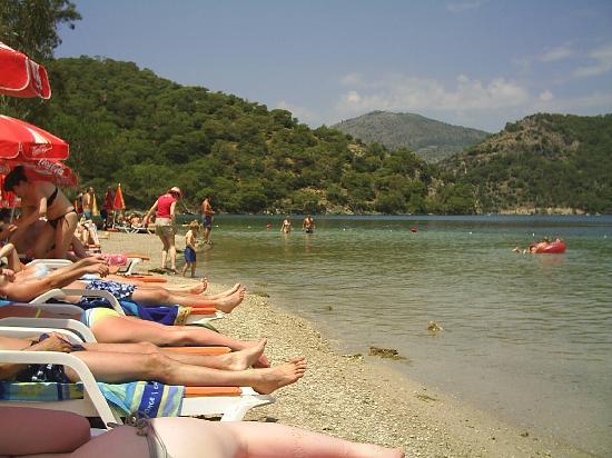 Hisaronu, Turkije: olu deniz beach