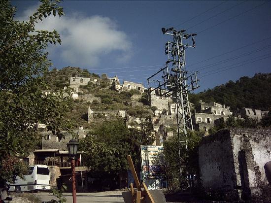 Hisaronu, Tyrkiet: ghost village