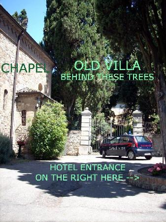 Hotel Garden Vigano: The entrance