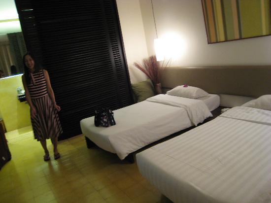 FCC Angkor: Living area