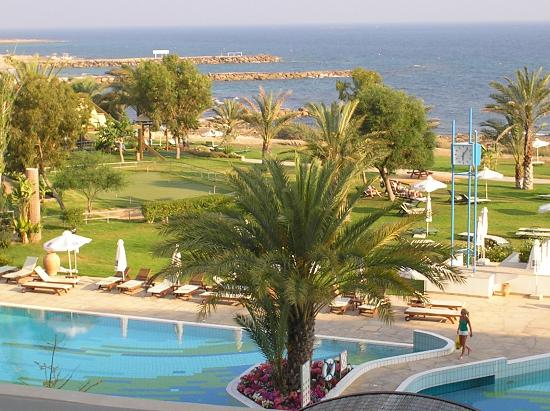 Constantinou Bros Athena Royal Beach Hotel: view from our room