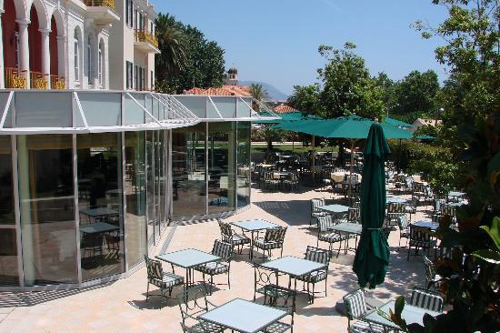 Hilton Imperial Dubrovnik: The terrace