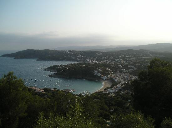 Hotel Garbi: Amazing View of Callelle from Lighthouse