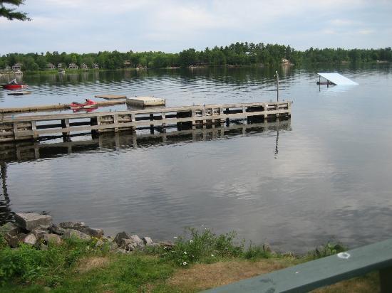 Fishing On Sparrow Lake Picture Of Bayview Wildwood Resort Severn Bridge Tripadvisor