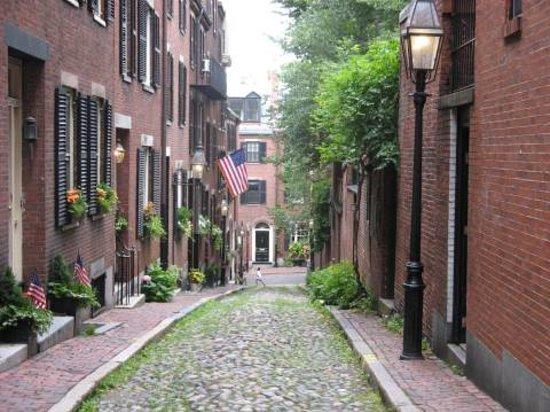 Бостон, Массачусетс: Acorn Street, Boston
