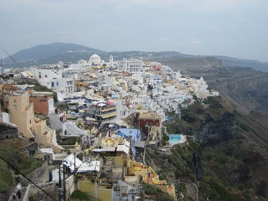 The Majestic Hotel: Fira town