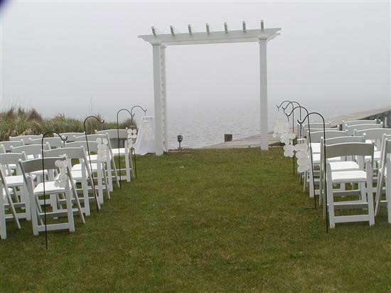 The Inn Spot on the Bay: the site of our ceremony