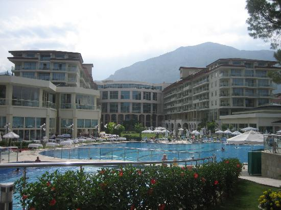Barut Kemer : view from the beach