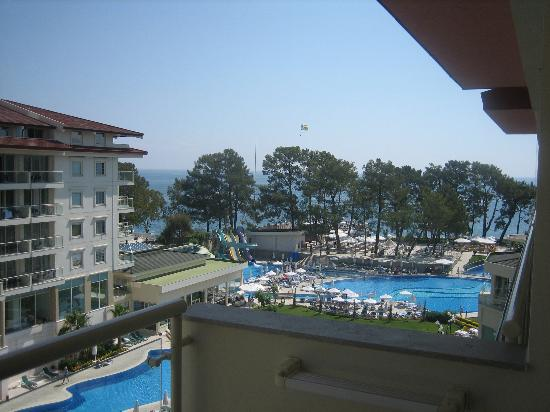 Barut Kemer: view from our room