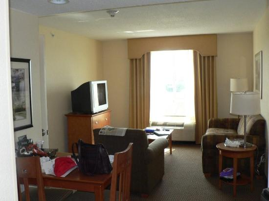 Homewood Suites by Hilton Bethlehem Airport : Living Room Area