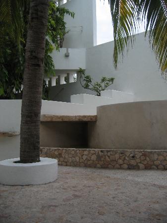 Mi Casa en Cozumel: cool water spa tub