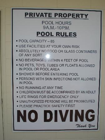 Aloha Kai Vacation Rentals: Rules...