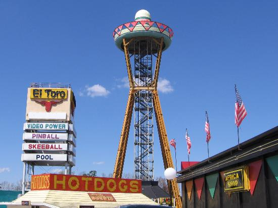 South of the Border, Carolina del Sur: The tower