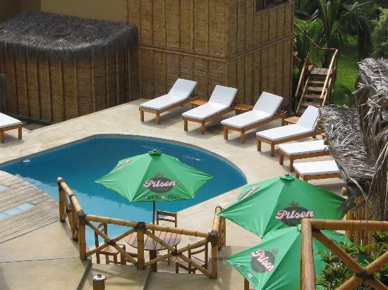 El Mirador de Vichayito: Pequeña piscina