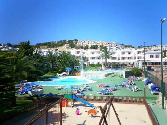 Jutlandia Family Resort: view from balcony