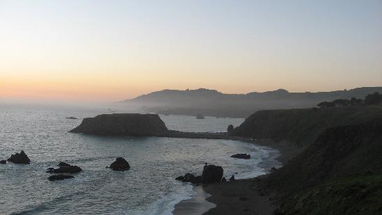 Sonoma County, Καλιφόρνια: Sunset at Goat Rock near Jenner
