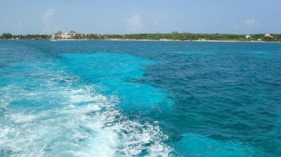 Coral Mar: clear blue waters of Cancun
