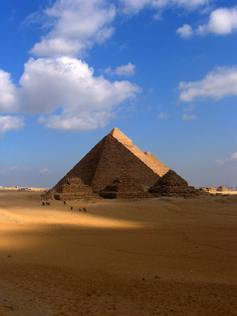 Egipto: Great Pyramids of Giza