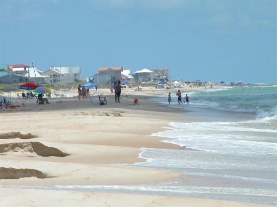 St George Island, FL: Uncrowded Beaches