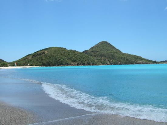 Hermitage Bay: Coastline and beach