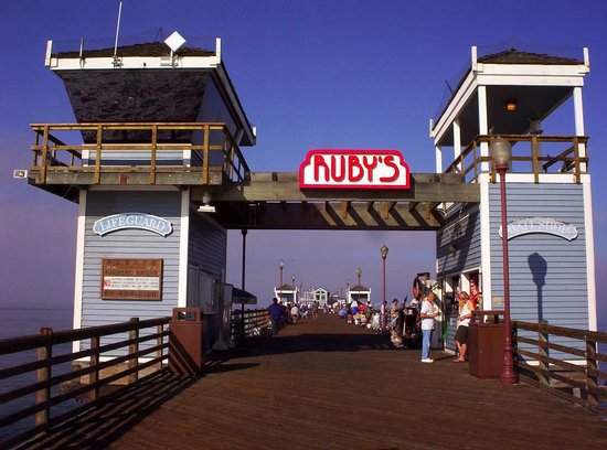 You're almost to Ruby's Diner on the Oceanside Pier