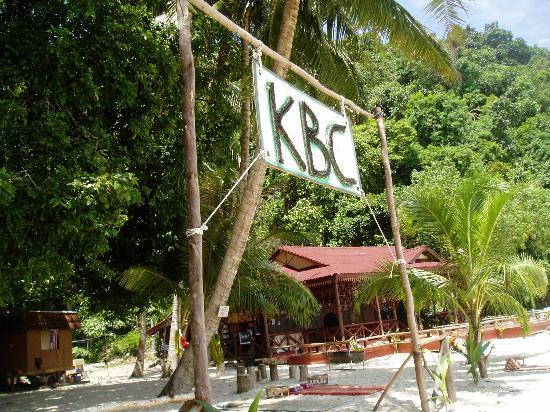Kapas Beach Chalet: The Entrance
