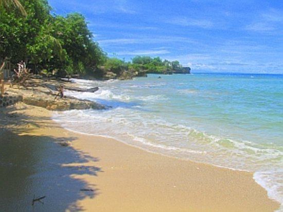 Dumaguete City, Φιλιππίνες: Beach at Kookoos Nest Antalung
