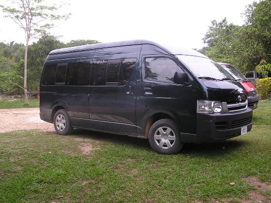 Crystal Paradise Resort: Brand new tour van  for Crystal Paradise