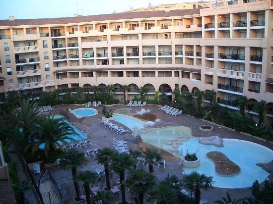 Pierre & Vacances Residenz Cannes Beach: Blick vom Balkon morgens