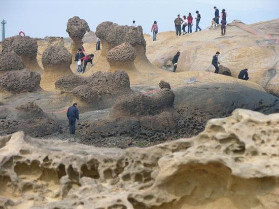 Wanli, Xinbei: Strange rock formations, Yehliu, Taipei County