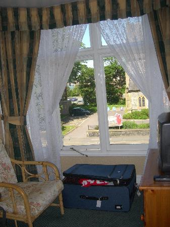 Bron Menai Guest House: View of street from our sitting room window