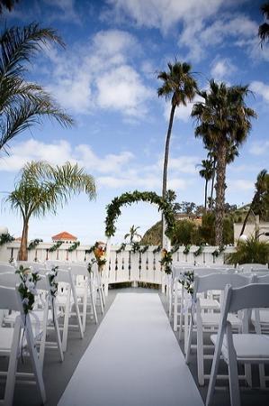 Hotel Metropole Beach House Wedding