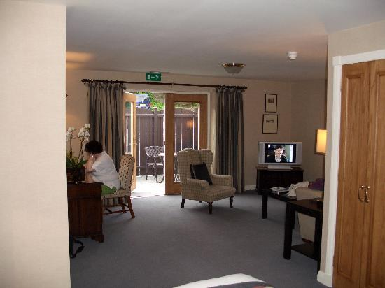 The Marcliffe Hotel and Spa: Marcliff room sitting area