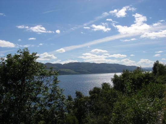 Loch Ness, UK: First glimpse of the Loch