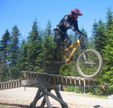Whistler Mountain Bike Park: Stunt at Whistler Mt Bike park