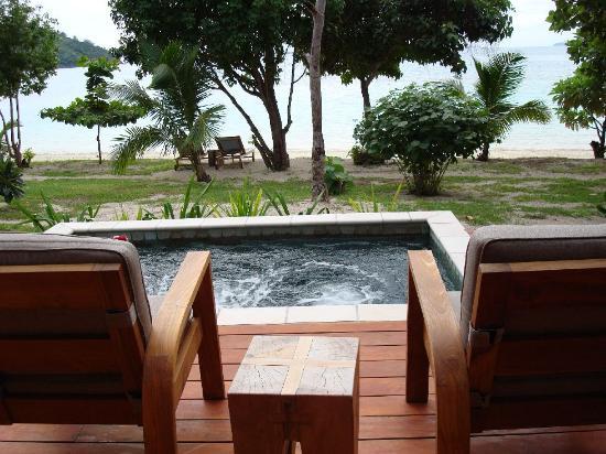 Likuliku Lagoon Resort: Plunge Pool