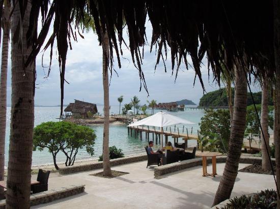 Likuliku Lagoon Resort: View from Restaurant
