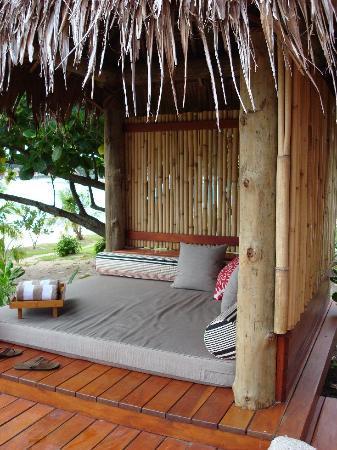 Likuliku Lagoon Resort: DayBed