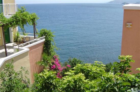 Ormos Atalia Aparthotel: View from our balcony