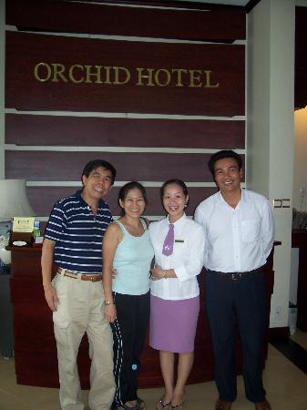 ORCHID HOTEL: Hotel Staffs