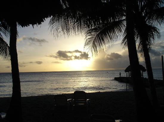 Sandy Point Beach Club: Sunset