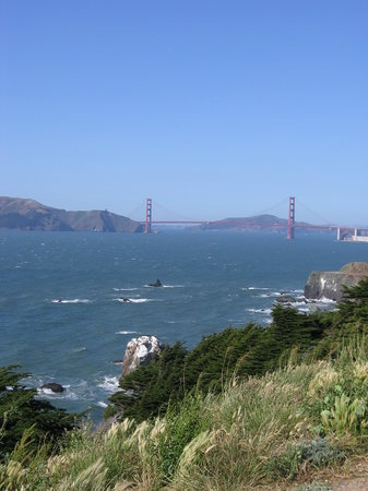 Lands End : Golden Gate views a short hike away